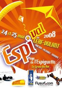 Festival du cerf-volant traction à l\'Espiguette